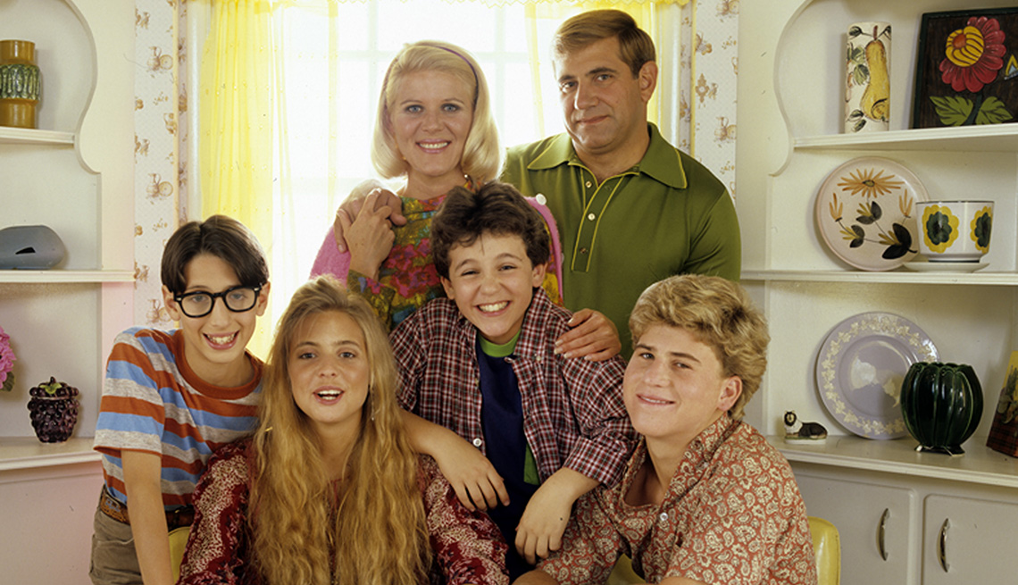 """El elenco de """"The Wonder Years""""."""