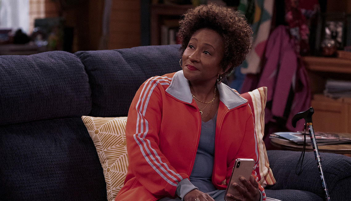 "Wanda Sykes en la serie de Netflix ""The Upshaws""."