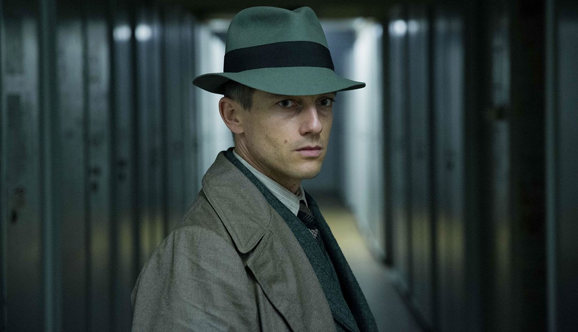 Volker Bruch stars in the TV series Babylon Berlin