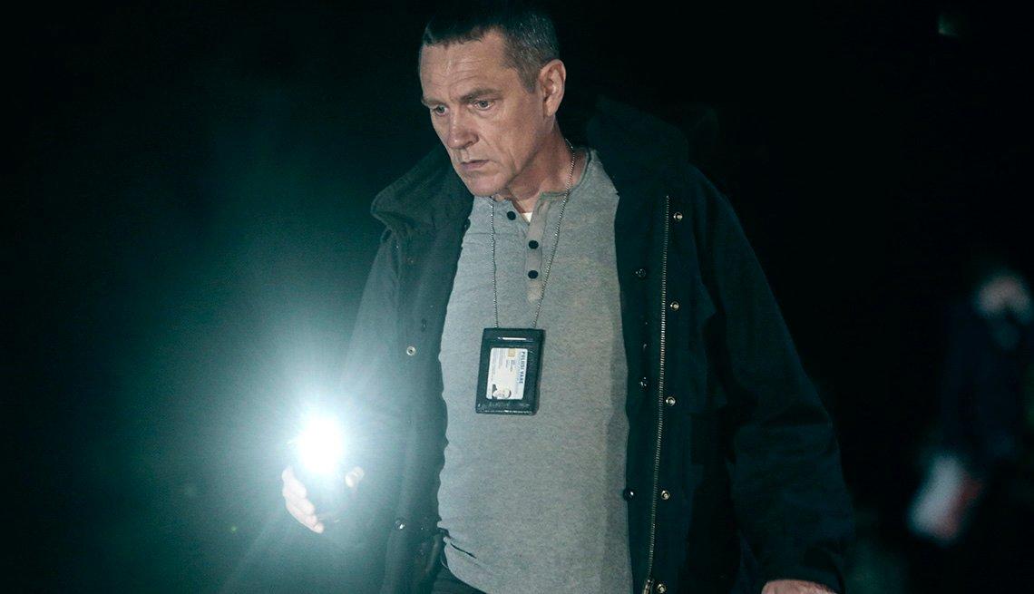 Ville Virtanen stars in the TV series Bordertown