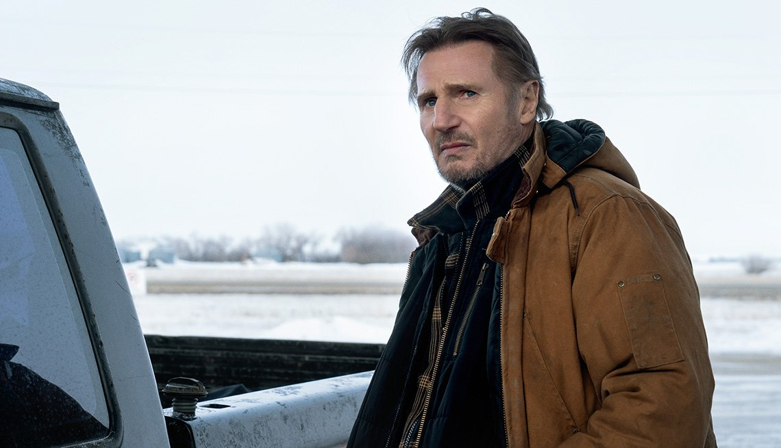 Liam Neeson stars in the Netflix film The Ice Road