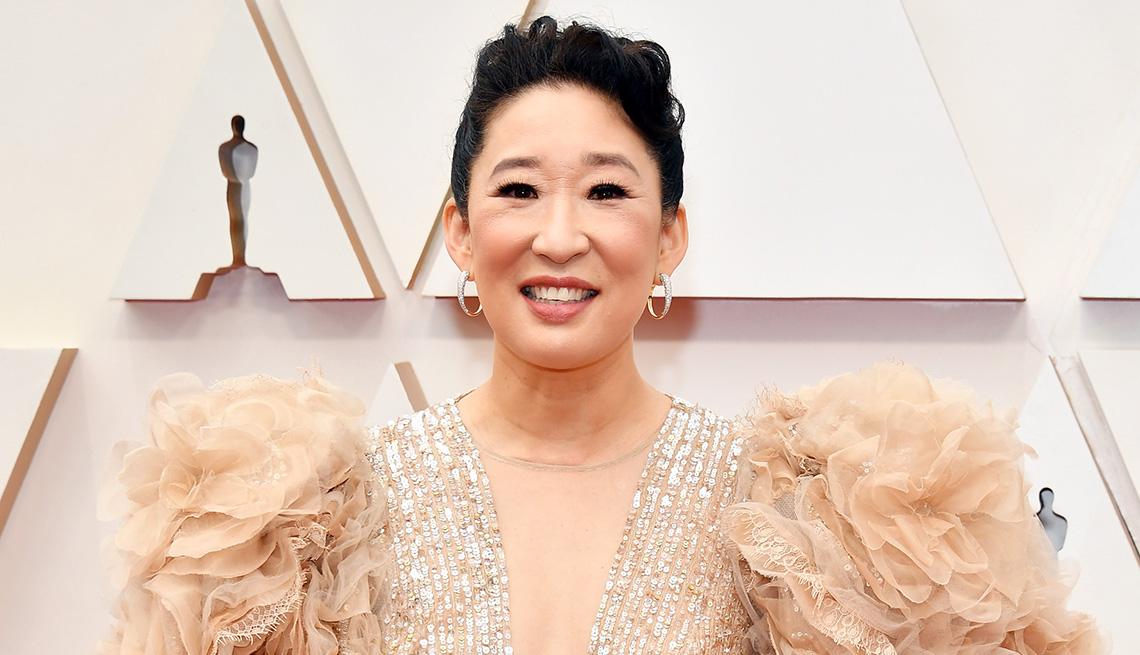 La actriz Sandra Oh.