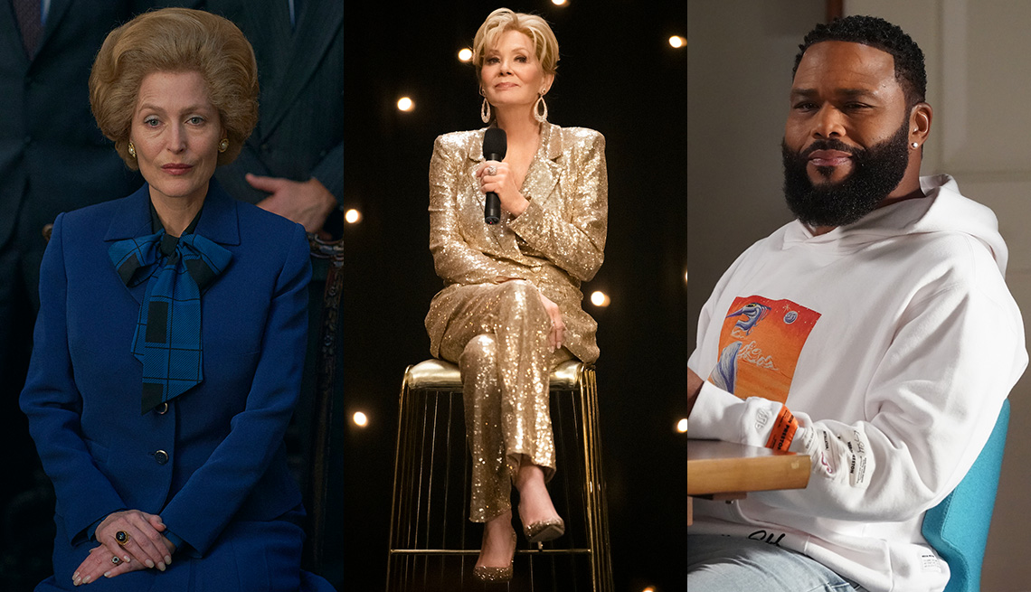 Gillian Anderson, Jean Smart and Anthony Anderson