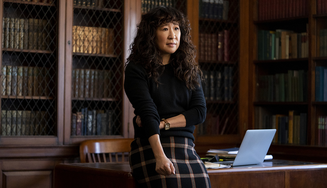 Sandra Oh stars in the Netflix series The Chair