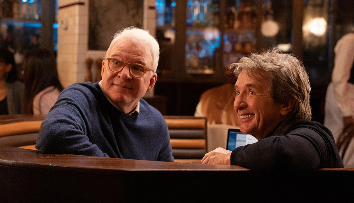 Steve Martin y Martin Short protagonizan 'Only Murders in the Building'.