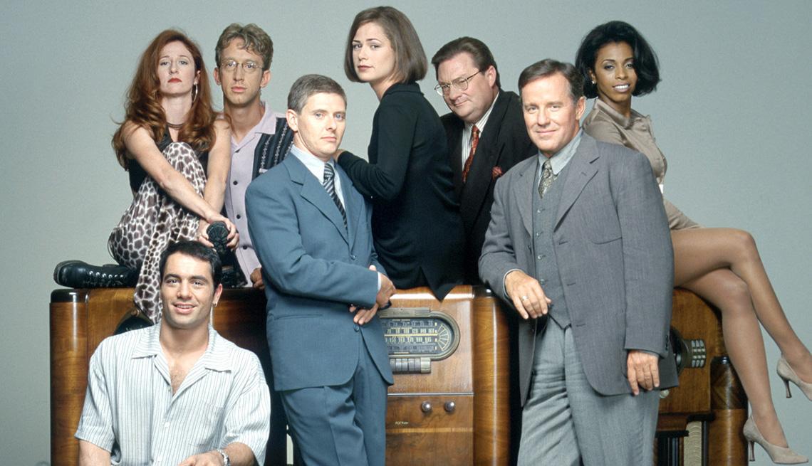 The cast of NewsRadio