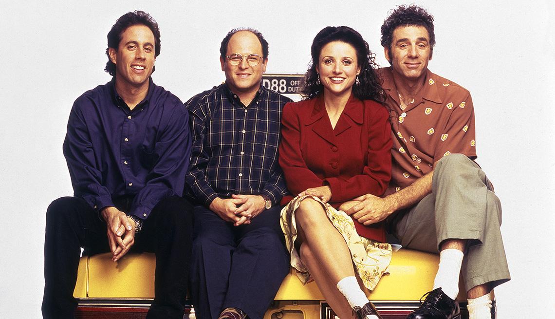 El elenco de 'Seinfeld'.