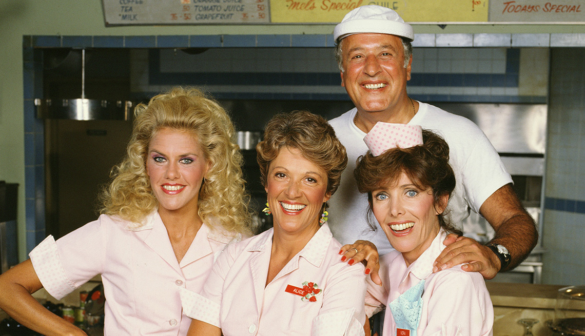 The cast of the TV show Alice