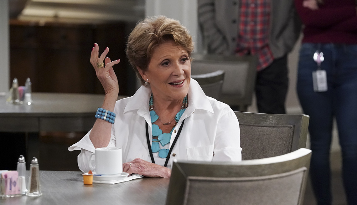 Linda Lavin stars as Norma in the television show B Positive