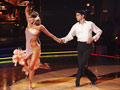 Ralph Macchio and Karina Smirnoff take the floor on