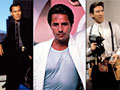 (L-R) Jimmy Smits in NYPD Blue, Don Johnson in Miami Vice, and Tim Allen in Home Improvement