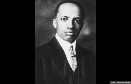 Carter Godwin Woodson Black History Month founder portrait