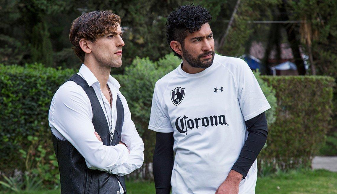 Escena de la serie en línea mexicana producida por Netflix Club de Cuervos