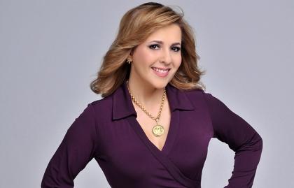 Retrato de Ana María Canseco en el 2017 y casi a sus 50 años de edad.