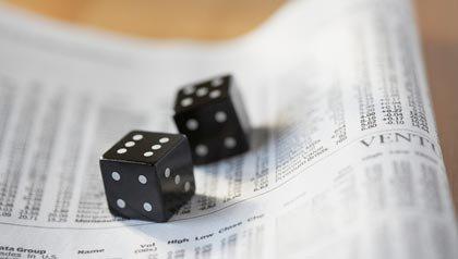 Unos dados sobre un periodico financiero