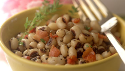 Bowl of hoppin' john