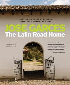 Libro The Latin Road Home por el chef Jose Garces