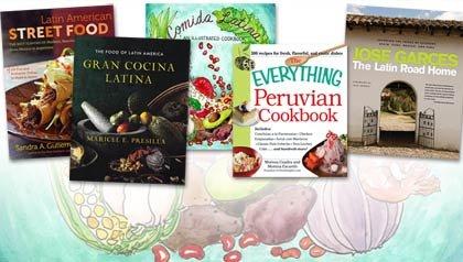 5 Libros de la comida latina