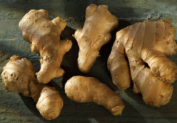 Jengibre - 10 alimentos afrodisiacos