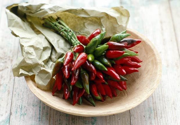 Chiles picantas - 10 alimentos afrodisiacos