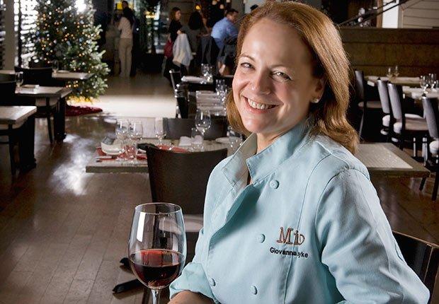 Chef Giovanna Huyke, Top 10 chefs latinos