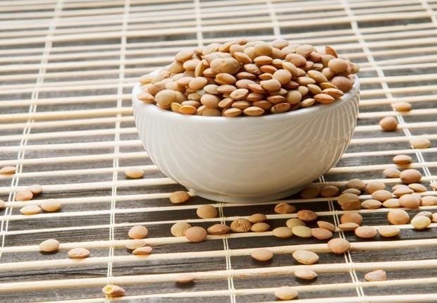 Lentejas - 10 Comidas vegetarianas altas en proteínas