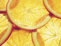 oranges contain fiber