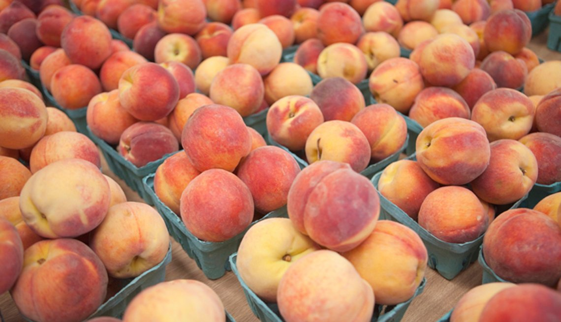 Boxes Of Fresh Peaches, Spend More On These Foods