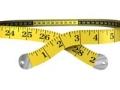 Cinta de medición en forma de cintura - Nueva dieta americana