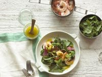 Shrimp salad, New American Diet
