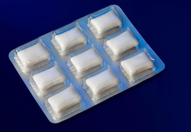Chicles libre de azúcar - Tácticas para bajar de peso rápido