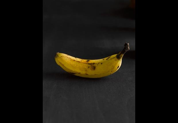 An overripe banana, 10 healthy high calorie foods