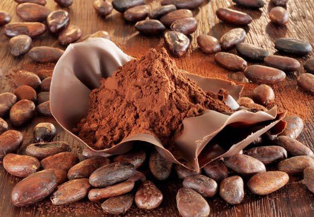 Cacao en polvo y frijoles, Beneficios para la salud de Cacao