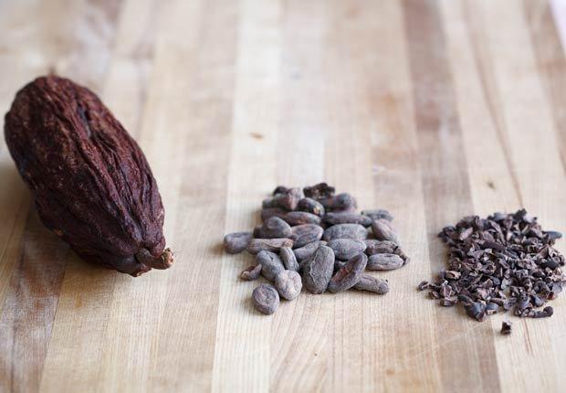 Las vainas de cacao y frijoles, Beneficios para la salud de Cacao
