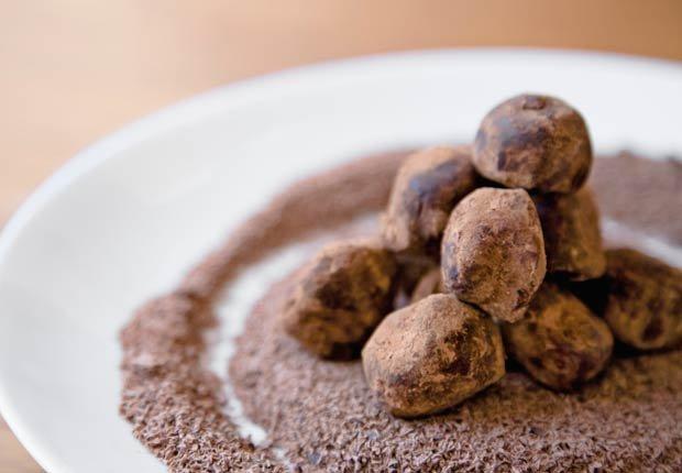 Trufas de chocolate con cacao en polvo, Beneficios para la salud de Cacao