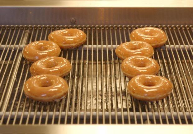 Krispy Kreme sandwich