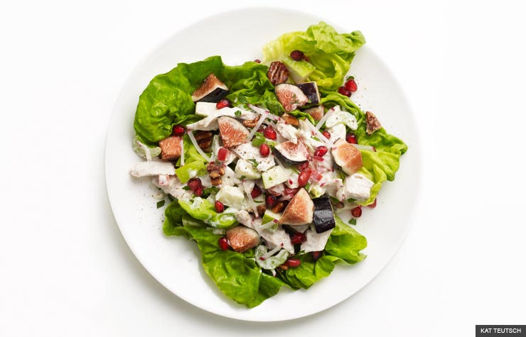 Fig salad (KAT TEUTSCH)