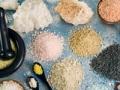 Sal de colores. 10 tipos diferentes de sal y la forma de utilizarlas.