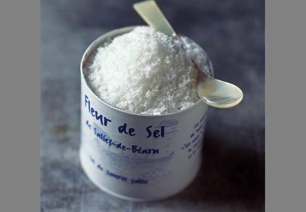 Fleur de sel. 10 tipos diferentes de sal y la forma de utilizarlas.
