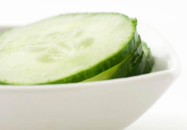 Pepinos, los alimentos que te mantienen hidratado.