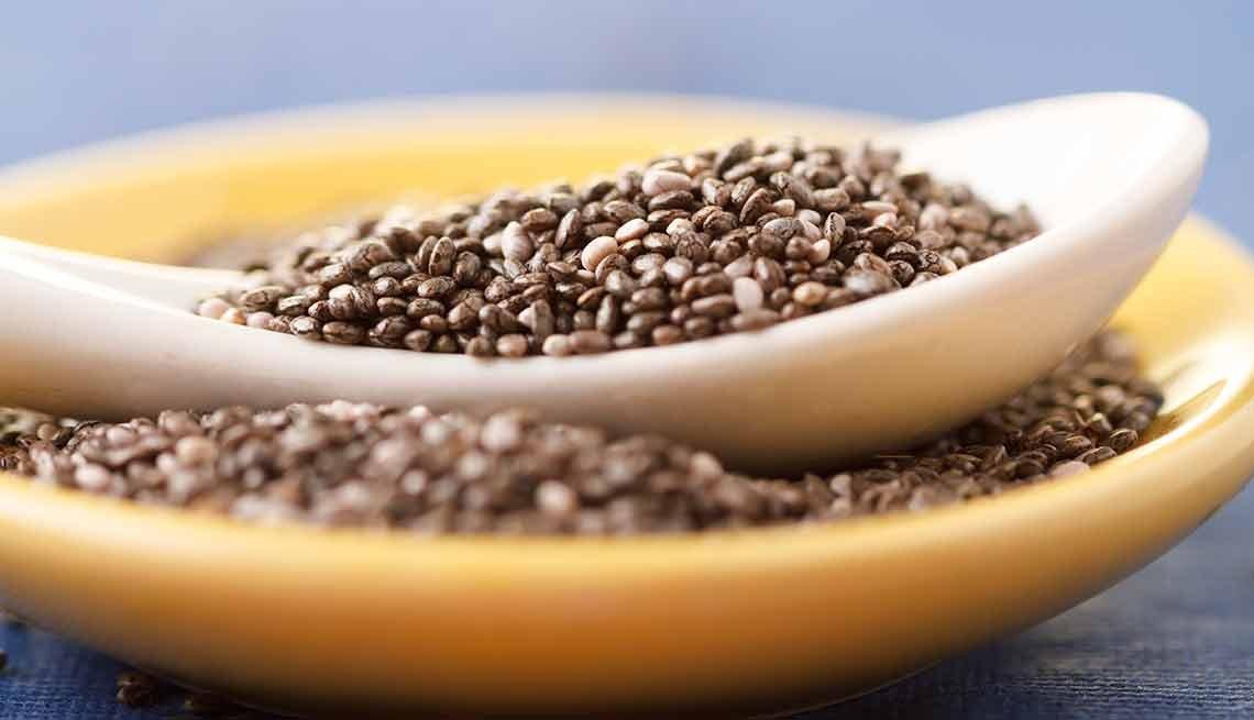 Semillas de Chia - Súperalimentos que puedes añadir a tus batidos