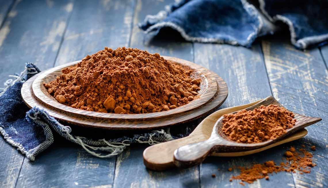 Cocoa en polvo - Súperalimentos que puedes añadir a tus batidos