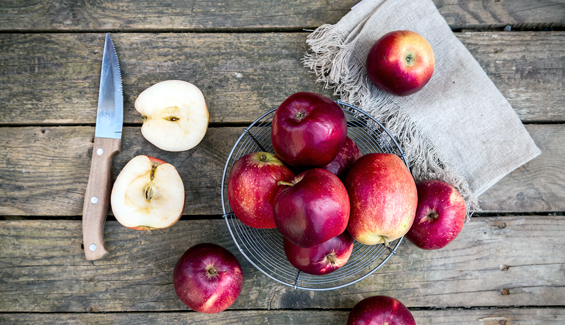 Manzanas y sus beneficios para la salud