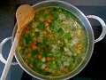 Recetas de sopas a base de vegetales