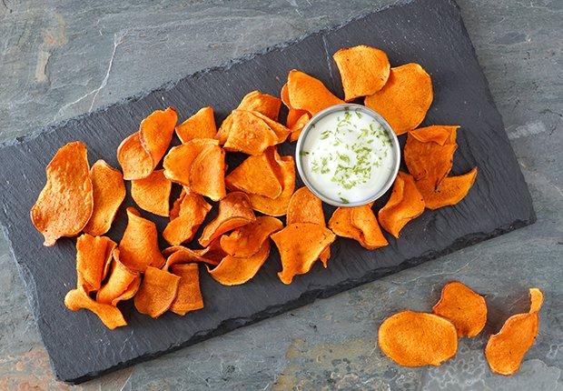 Vegetales que puedes convertir en chips saludables