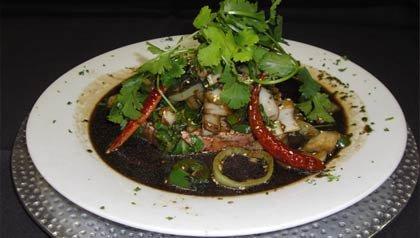 Plato del restaurante Elvira en la cuidad de Tubac, Arizona