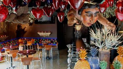 Restaurante Elvira en la ciudad de Tubac, Arizona