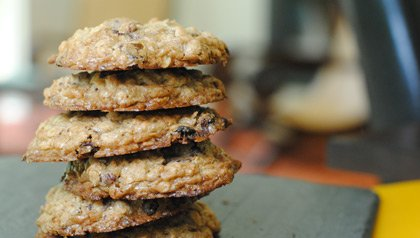 Pam Anderson big summer potluck oatmeal cookies recipe