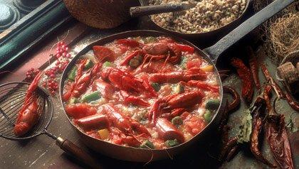 Mardi Gras menu: Crayfish gumbo