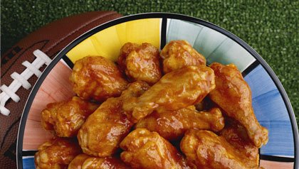 Super Bowl party foods: chicken wings